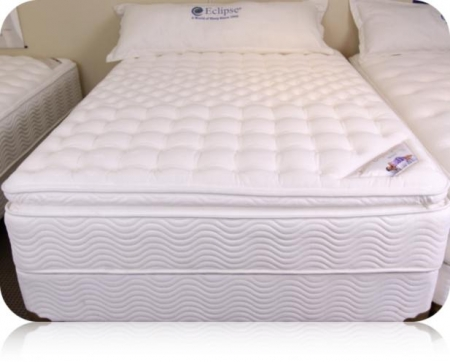conformatic brussels pillow top mattress by eclipse