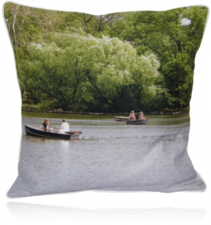 Craigs Beds Custom Printed Pillows/Central Park Lake NYC