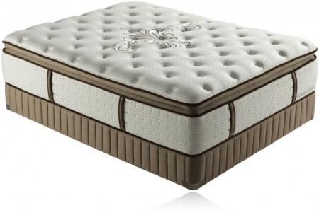 Stearns Foster Siena Luxury Euro Pillow Top Plush King