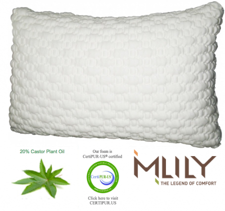 MLiLY Comfort Memory Foam Pillow