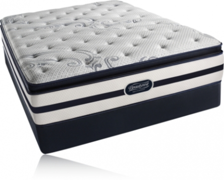 Simmons Beautyrest Recharge Cherrydale Plush Pillow Top Mattress