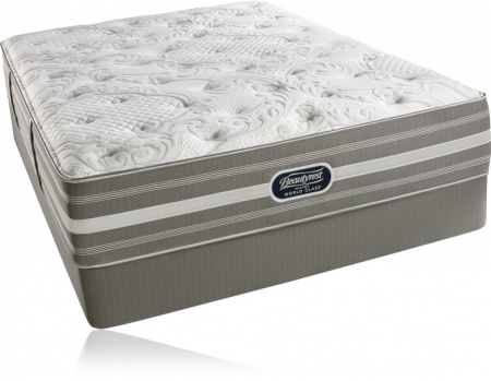 Simmons Beautyrest Recharge World Class Englewood Cliffs Plush Mattress