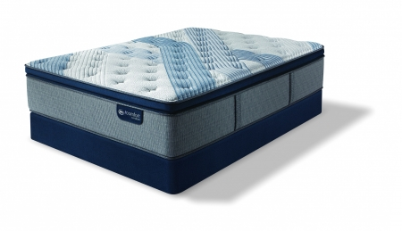 Serta iComfort Hybrid Blue Fusion 1000 Plush Pillow Top Mattress
