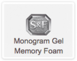 Stearns And Foster Monogram Gel Memory Foam Mattress